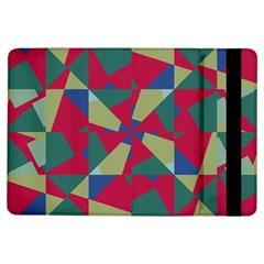 Shapes in squares pattern	Apple iPad Air Flip Case by LalyLauraFLM