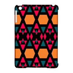 Rhombus And Other Shapes Pattern Apple Ipad Mini Hardshell Case (compatible With Smart Cover) by LalyLauraFLM
