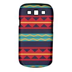 Rhombus And Waves Chains Pattern Samsung Galaxy S Iii Classic Hardshell Case (pc+silicone) by LalyLauraFLM