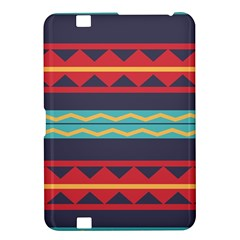Rhombus And Waves Chains Pattern Kindle Fire Hd 8 9  Hardshell Case by LalyLauraFLM