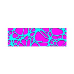 Hot Web Turqoise Pink Satin Scarf (oblong) by ImpressiveMoments