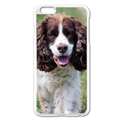 Ess Walking Apple iPhone 6 Plus Enamel White Case by TailWags