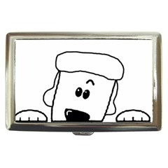 Peeping White Poodle Cigarette Money Cases by TailWags