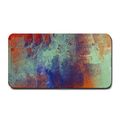 Abstract In Green, Orange, And Blue Medium Bar Mats by theunrulyartist