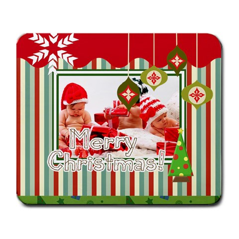 Xmas By Debe Lee   Large Mousepad   Pbijrd3tp38w   Www Artscow Com Front
