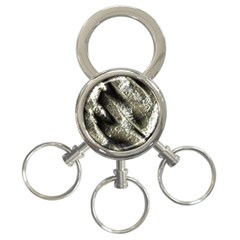 Brilliant Metal 5 3 Ring Key Chains by MoreColorsinLife