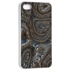 Brilliant Metal 2 Apple Iphone 4/4s Seamless Case (white) by MoreColorsinLife