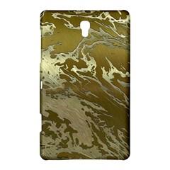 Metal Art Swirl Golden Samsung Galaxy Tab S (8 4 ) Hardshell Case  by MoreColorsinLife