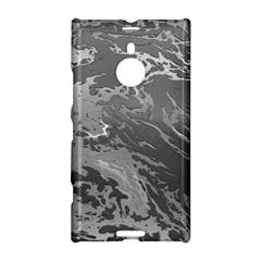 Metal Art Swirl Silver Nokia Lumia 1520 by MoreColorsinLife