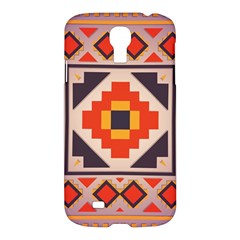 Rustic Abstract Design Samsung Galaxy S4 I9500/i9505 Hardshell Case by LalyLauraFLM