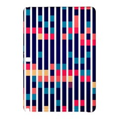Stripes And Rectangles Patternsamsung Galaxy Tab Pro 10 1 Hardshell Case