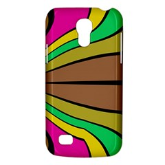 Symmetric Waves Samsung Galaxy S4 Mini (gt I9190) Hardshell Case  by LalyLauraFLM