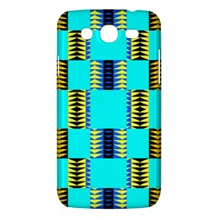 Triangles In Rectangles Pattern Samsung Galaxy Mega 5 8 I9152 Hardshell Case  by LalyLauraFLM