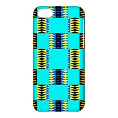 Triangles In Rectangles Pattern Apple Iphone 5c Hardshell Case by LalyLauraFLM