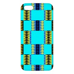 Triangles In Rectangles Pattern Iphone 5s Premium Hardshell Case by LalyLauraFLM