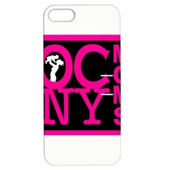 Ocnymoms Logo Apple Iphone 5 Hardshell Case With Stand by OCNYMOMS