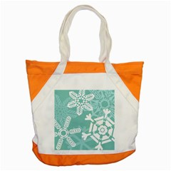 Snowflakes 3  Accent Tote Bag  by theimagezone