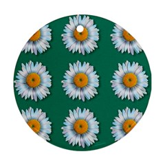 Daisy Pattern  Ornament (round)  by theimagezone
