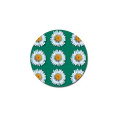 Daisy Pattern  Golf Ball Marker by theimagezone