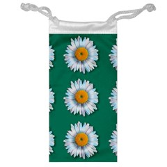 Daisy Pattern  Jewelry Bags by theimagezone