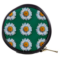 Daisy Pattern  Mini Makeup Bags by theimagezone