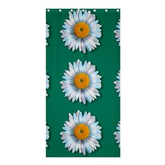Daisy Pattern  Shower Curtain 36  X 72  (stall)  by theimagezone