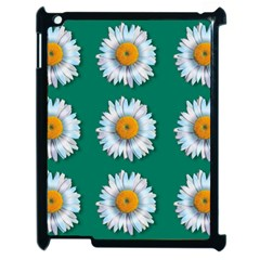 Daisy Pattern  Apple Ipad 2 Case (black) by theimagezone
