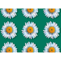 Daisy Pattern  Birthday Cake 3d Greeting Card (7x5)