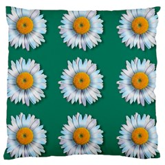 Daisy Pattern  Large Cushion Cases (one Side)  by theimagezone