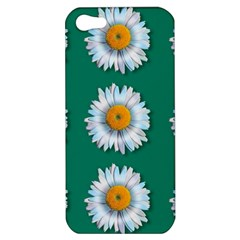 Daisy Pattern  Apple Iphone 5 Hardshell Case by theimagezone