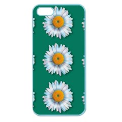 Daisy Pattern  Apple Seamless Iphone 5 Case (color) by theimagezone