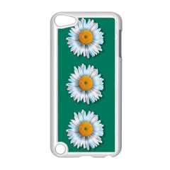 Daisy Pattern  Apple Ipod Touch 5 Case (white) by theimagezone