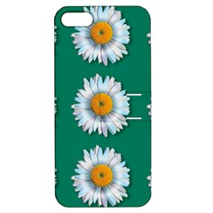 Daisy Pattern  Apple Iphone 5 Hardshell Case With Stand by theimagezone