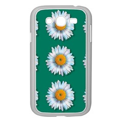 Daisy Pattern  Samsung Galaxy Grand DUOS I9082 Case (White) by theimagezone