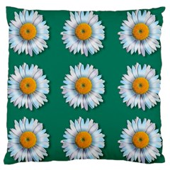 Daisy Pattern  Standard Flano Cushion Cases (one Side)  by theimagezone