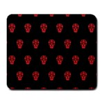 Skull Pattern Red Large Mousepads