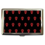 Skull Pattern Red Cigarette Money Cases