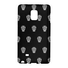 Skull Pattern Bw  Galaxy Note Edge by MoreColorsinLife