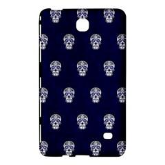 Skull Pattern Blue  Samsung Galaxy Tab 4 (7 ) Hardshell Case