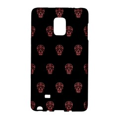 Skull Pattern Pink  Galaxy Note Edge by MoreColorsinLife