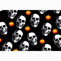 Skulls And Pumpkins Collage 12  X 18
