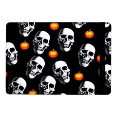 Skulls And Pumpkins Samsung Galaxy Tab Pro 10.1  Flip Case by MoreColorsinLife