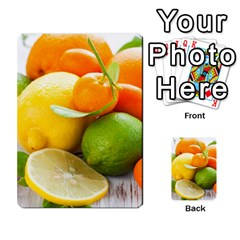 Citrus Fruits Multi-purpose Cards (Rectangle)  by emkurr