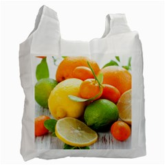 Citrus Fruits Recycle Bag (one Side) by emkurr