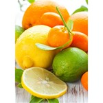 Citrus Fruits Peace Sign 3D Greeting Card (7x5)  Inside