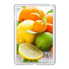 Citrus Fruits Apple Ipad Mini Case (white) by emkurr
