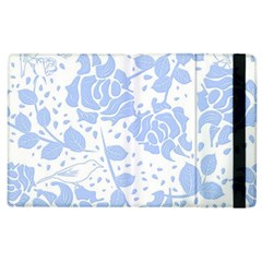 Floral Wallpaper Blue Apple Ipad 3/4 Flip Case by ImpressiveMoments