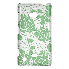 Floral Wallpaper Green Nokia Lumia 720 by ImpressiveMoments