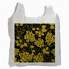 Floral Wallpaper Forest Recycle Bag (two Side)  by ImpressiveMoments