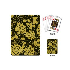 Floral Wallpaper Forest Playing Cards (mini)  by ImpressiveMoments